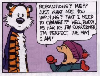 calvin new year's resolution